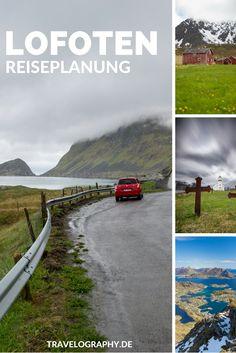Reiseplanung Lofoten: Unsere Reiseroute für Mai