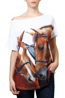 Comprar blusa-estampa-dois-cavalos-usenatureza