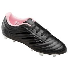 Adidas Womens Copa 19.4 Firm Ground CleatsIf you can't have the last word with your first touch, these Women's Adidas Copa 19.4 Firm Ground Cleats. Copa transforms every stroke of your foot into a stroke of genius. The durable synthetic leather upper on these cleats includes stitching on the vamp for enhanced ball control. The outsole helps you make your mark on firm ground, artificial grass and hard ground.FeaturesExtended textile lining; TPU flexible ground outsoleSynthetic leather… Adidas Cleats, Adidas Sport, Soccer Cleats, Adidas Women, The Vamps, Leather Wallet, Grass, Stitching, Footwear