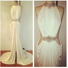 I could see this to be a beautiful latin dress, but maybe with a shorter skirt. Maybe ankle length or knee length