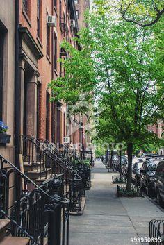 ニューヨークのチェルシー地区街並み、作者 mtaira