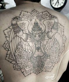 Muay Thai Tattoo, Khmer Tattoo, Hindu Tattoos, Buddha Tattoos, Hanuman Tattoo, Geisha, Sak Yant Tattoo, Warrior Tattoos, Original Tattoos