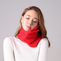 Multifunction Scarf Scarf Neck Support Travel Pillow Airplane Travel Pillow Neck Sleep Support Portable Headres Memory F. Travel Pillow Airplane, Neck Pillow Travel, Airplane Car, Travel Pillows, Inflatable Neck Pillow, Neck Support Pillow, Coral Pillows, Textiles, Neck Scarves