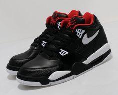 buy online 8a7ad 97ef6 Nike Air Flight 89 - Spring 2013 Impresionante, Zapatillas De Deporte Azules,  Negro Blanco