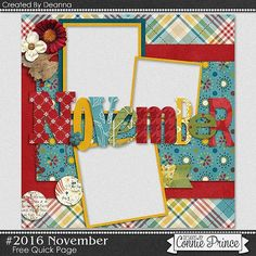 FREE Quick Page Freebie from Connie Prince