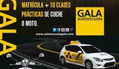 Gana la matrícula del carnet de coche o moto + 10 clases prácticas #SorteosActivos #Sorteamus Sorteo por @autoescuelagala