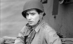 Robert Capa, pictured in Portsmouth in 1944, was best known for his war shots. But a new collection shows a gentler side. Photograph: Time L...