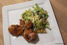 EGOSHE.dk - En madblog med South Beach opskrifter og andet godt...: non-Fried Chicken med Coleslaw