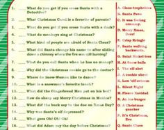 Printable christmas games diy ideas for 2019 Merry Christmas Games, Christmas Drinking Games, Christmas Riddles, Xmas Games, Printable Christmas Games, Holiday Party Games, Christmas Music, Christmas Carol, Games For Kids