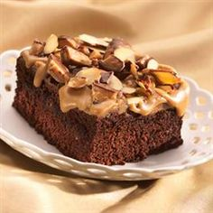 Sticky Toffee Brownies