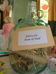 beach theme baby shower | Beach Baby Shower - Message in a Bottle - ... | Baby Shower Beach The ...
