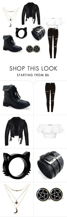"""""""Girl Gunge"""" by alyssapelster on Polyvore featuring Aéropostale, Alexander McQueen and Charlotte Russe"""