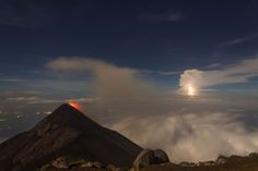 Thunders and Explosions at Acatenango Photo by Diego Fabriccio Diaz Palomo — National Geographic Your Shot