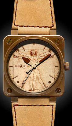 chronowatchco Bell & Ross BR01 Heritage - Vetruvian. Sick.