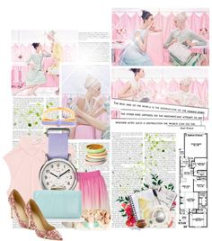 """Pastel"" by beautydesk on Polyvore"