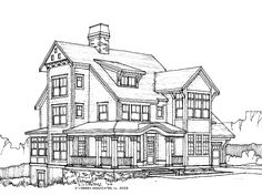 Eplans Cottage House Plan - Four Bedroom Cottage - 3013 Square Feet and 4 Bedrooms from Eplans - House Plan Code HWEPL67629