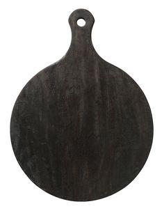 Velké prkno z černého mangového dřeva / kitchenette shop