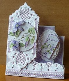Marianne design dies - Handmade Card using Marianne Creatables Design Dies