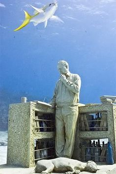 Visit the Underwater Museum in Cancun
