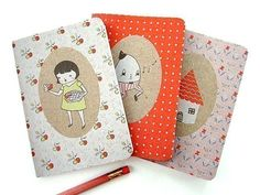 Sweet As Pie Pocket Notebook Three-Pack from The Black Apple.
