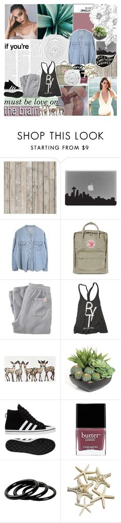 """it beats me black and blue"" by roxymarie ❤ liked on Polyvore featuring Piet Hein Eek, Fjällräven, Franklin & Marshall, Rebel Yell, adidas, Butter London, Furla and Brinkhaus"