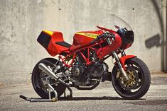 This 900 SS was built by Spain's Radical Ducati workshop