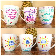 DIY Mugs  Like the sunshine side