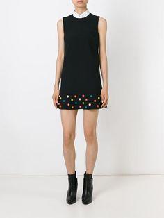 Red Valentino Studded Hem Sleeveless Dress - Gaudenzi - Farfetch.com