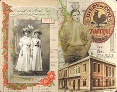 Lambsworld: Vintage Gluebook pg. 15-16