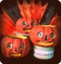 *Rook No. 17: How to Make Halloween Folk Art from Dollar Store Pumpkins