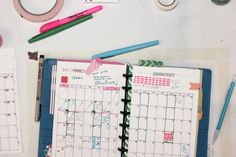 "5.5"" by 8.5"" week, day and month planner templates by Ahhh Design #diyplanner #discbound"