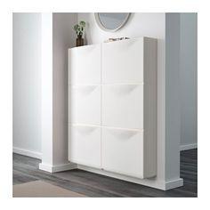 TRONES Shoe cabinet/storage - white - IKEA