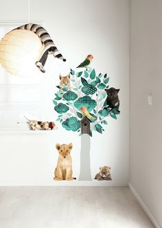 Tree wall sticker for kids from KEK Amsterdam.
