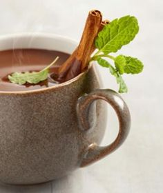 Skinny Peppermint Mocha Ingredients: 1/2 c. coffee 2 drops peppermint extract 1/3 c. nonfat milk 2 tbsp. dark chocolate syrup Directions: Brew coffee of your choice (or use one package of instant coffee) and pour into a mug. Stir peppermint extract and chocolate syrup into the coffee. Taste and adjust to your liking. Stir in nonfat milk. Makes one serving
