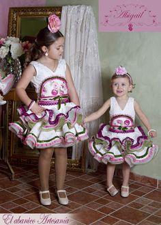 El Abanico07 Flamenco Dancers, Spanish Fashion, Kids And Parenting, Harajuku, Baby Kids, Kids Fashion, Fashion Dresses, Plus Size, Children