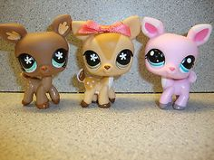 ★ Littlest Pet Shop Lot ★ Deer Triplets | eBay