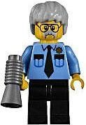 LEGO The Movie LOOSE Minifigure Pa Cop (640213884716) Official LEGO mini figure