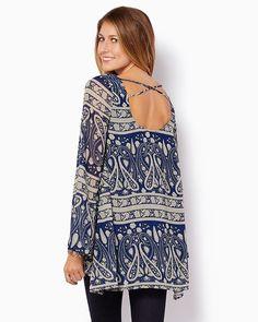 charming charlie | Paisley Perfection Tunic Dress | UPC: 3000710049 #charmingcharlie