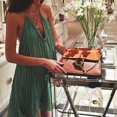 fringe dress & bag