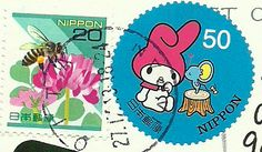 Japan postal stamps - cutest ever!