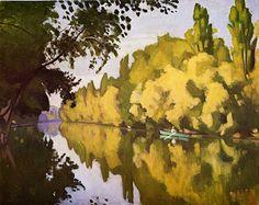 River scene - Albert Marquet