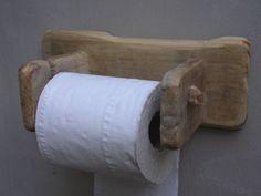 Irish Driftwood Toilet Roll Holder