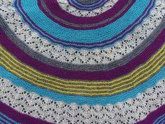 Lankaterapiaa: Vihje kerrallaan - Satakieli shawl by Heidi Alander
