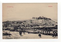 1910s EPHESUS SMYRNE SMYRNA TURKEY PC Postcard TURKISH Izmir EPHESE Turks
