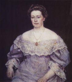 Портрет А.П.Юргенсон.  1908