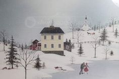 Folk art ~ Winter