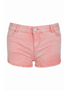 Coral Serena Acid Shorts from Select Fashion online store