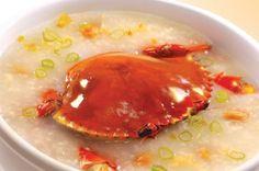 堂弄生滾黃油蟹粥