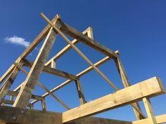 Oak frame based on the RJA/Carpenter Oak show home design in Devon. By Roderick James Architects.