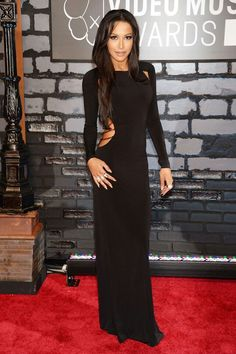 Naya Rivera at the 2013 VMA's